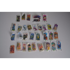 Figurinhas Diversas - Chicle Buzzy, Ping Pong, Bomky