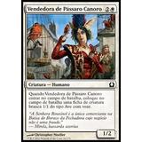 X4 Vendedora De Pássaro Canoro / Seller Of Songbirds