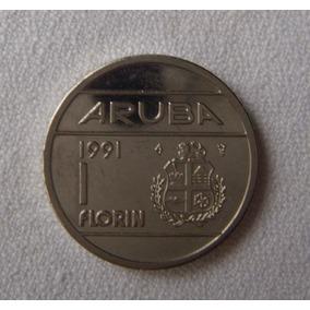 Moneda De Aruba - 1991 - 1 (uno) Florín