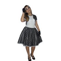 Fantasia Vestido Anos 60 Sandra