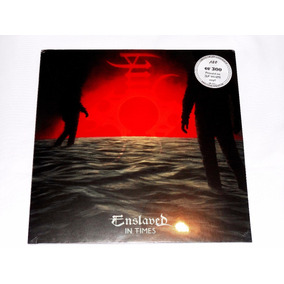 Enslaved In Times Gatefold 2-lp White Vinyl Black Viking