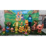 Esculturas Em Isopor E Fibra Para Decoração Festas Infantil