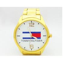 Relógio Tommy Hilfiger Dourado Frete Gratis