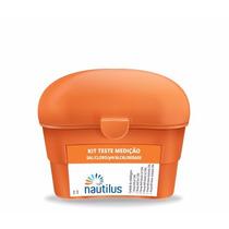 Kit Nautilus Teste Cloro, Ph, Alcalinidade E Sal P/ Piscina