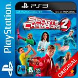 Sports Champions 2 Ps3 Digital Elegi Reputacion Al Comprar