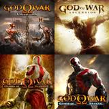 Ps3 Pacote 5 Jogos God Of War (menos O 3) A Pronta Entrega