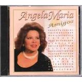 Cd Angela Maria Amigos Lacrado Original