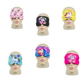 Máscara Para Dormir Lembranças Festa Do Pijama Unicórnios