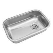 Pileta Ac.inox. Cocina Simple Zz52/18 L.430 Johnson