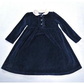Vestido Chaps By Ralph Lauren Para Niña Talla 5 Oferta!111