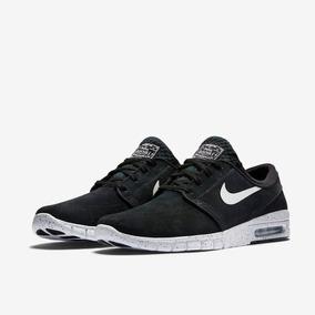 new style cec77 83ac8 Zapatillas Nike Stefan Janoski Max L Negra Suela Salpicada
