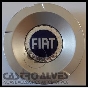 Calota P/ Roda Liga L Fiat Stilo 2.4 Abarth Aro14|15|17 Azul