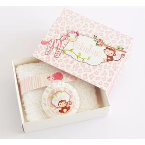 Caja Personalizada + Jabón + Toallita 10x15 - Souvenirs
