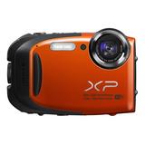 Camara Fujifilm Xp70 16 Mp Naranjado