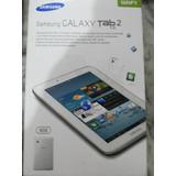 Tablet Samsung 7 P. Dual Core Gt-p3110 8gb Tab2