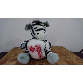 Pelúcia Zebra Parmalat