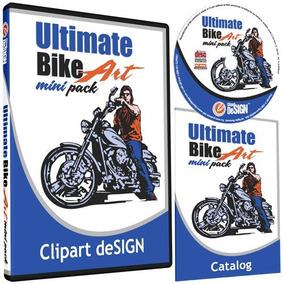 Motorcycle Biker Clipart-vinyl Cutter Plotter Imágenes Pred