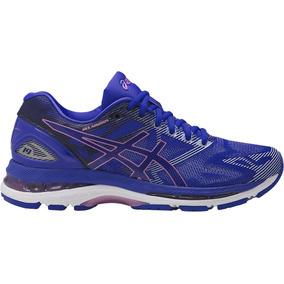 Zapatillas Running Asics Gel Nimbus 19 W Azul Envios Pais