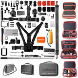 Fantaseal Ultimate 50in1 Gopro Accessories Kit For Gopro Com