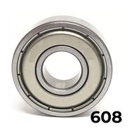 Rolamento 608 Zz Kit Com 8 Pçs 8x22x7
