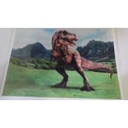 Papel De Arroz Para Bolo Dinossauro Retangular Comestível