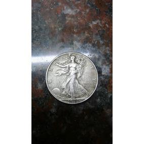 Moneda Usa De Plata Liberty Half Dolar 1946