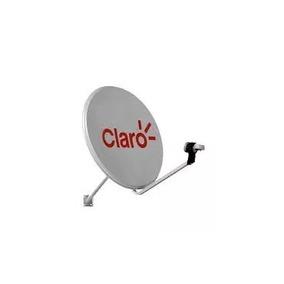 Antena Parabólica Completa 60 Com Logotipo Claro