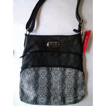 Bolsa Rosetti Negra Crossbody $749 Pesos - Original Nueva