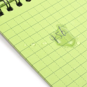 Caderno Bloco De Notas À Prova D