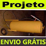 Projeto Máquina Jato De Areia Granalha Shot Peening Promoção