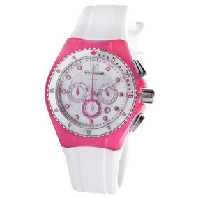 Technomarine Cruise Unisex Playa Rosa / Blanco Reloj Con C