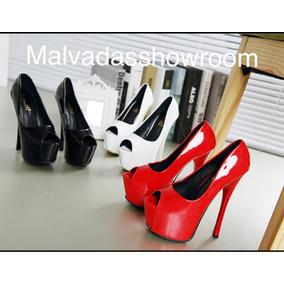 eb931d2f Taco Aguja Stiletto Heels 18 Cm! Talle 43/44 Calzado Femenino ...