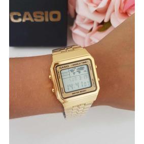 3924173b331 Relogio Cassio A500wa Dourado - Relógio Casio no Mercado Livre Brasil