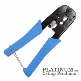 Crimpeadora Platinum Rj45 - Rj11 - Rj12 Con Criquet