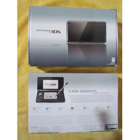 Nintendo 3ds Cosmo Black - Na Caixa Novo