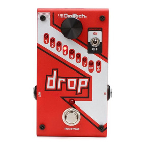 Pedal Digitech The Drop Tune Pitch Shifter + Fonte Original