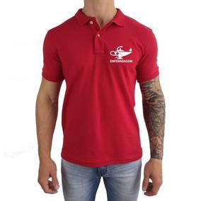 Camiseta Polo Masculina Enfermagem Lançamento Camisa 2019 bcf449156e580