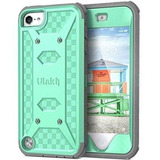 Ulak Ipod Touch 6 Case,ipod Touch 5 Case,[knox Armor] Dual L