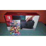 Nintendo Switch + Mariokart Deluxe 8 Entrega Inmediata