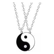 Collares De Pareja Yin Yang Amor Mejores Amigos San Valentín