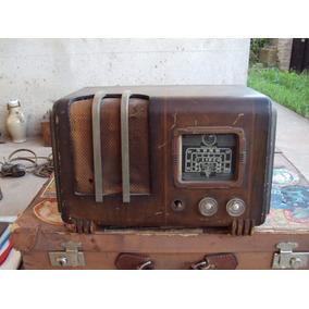 Antigua Radio Valvular Para Restaurar O Repuestos
