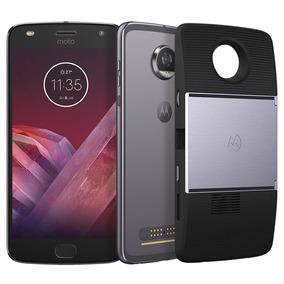 Motorola Moto Z2 Play Projector 64gb 12mp Android 7.1 4gb