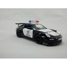 Miniatura Porsche 911 Gt3 Policia Escala 1:36