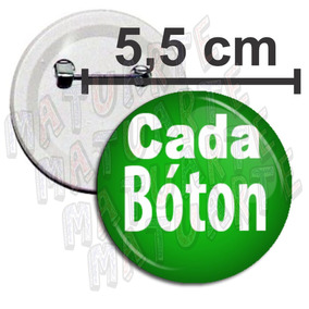 Boton Botons Broches Bottons Botton Pin Personalizados 5,5cm