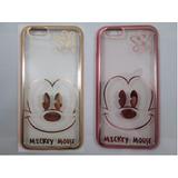 Capa Case Iphone 6 6s Disney Rosto Minnie Mickey Frete 9,99