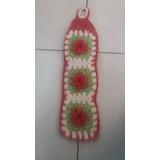 Porta Papel Higiênico Barbantede Croche, Banheiro