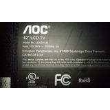 Televisor Aoc Lc42h133 Desarme - Mainboard - Lámparas Ccfl
