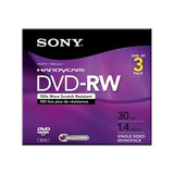 Sony 3dmw30r2hc - Dvd-rw De 3 X (8cm) - 1.4 Gb (30min) 1x -