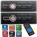 Auto Estereo Mp3 Bluetooth Usb 45w X 4 Salidas Lcd Display