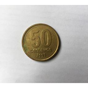 Moeda Argentina 1993 - 50 Centavos